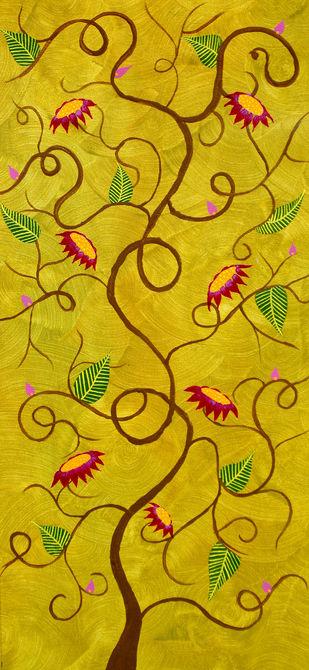Gulpankh - Painting by Sumit Mehndiratta