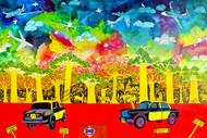 Lifecycles  - Painting by Pragati Sharma Mohanty