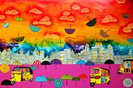 Lifelines - Painting by Pragati Sharma Mohanty