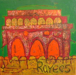 Golkonda Series by Syed Rayees Ahmed, , , Brown color