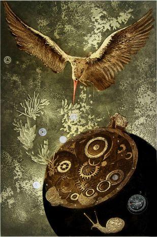 Mechanical World Artwork By Jyotirmay Dalapati