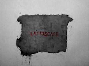 Landscape by Pallavi Das, Conceptual Digital Art, Digital Print on Paper, Gray color