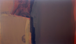 20 whose brown burns in me 21 2011 36x60 inches