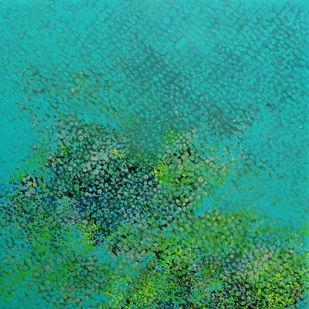Swapna Dharaa 2 Digital Print by Durgesh Birthare,Abstract