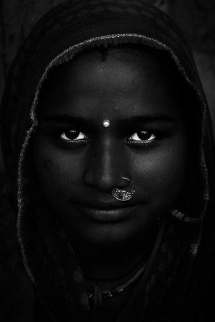 The Black Beauty by Jayati Saha, Image Photography, Digital Print on Paper, Black color