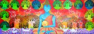 Buddha - Painting by Pragati Sharma Mohanty