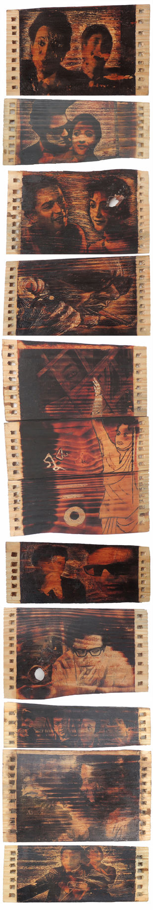 Guru by Sampurna Naskar, Conceptual Painting, Mixed Media on Wood,