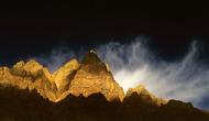 Gold Rush by Sugato Mukherjee, Image Photography, Digital Print on Canvas, Black color