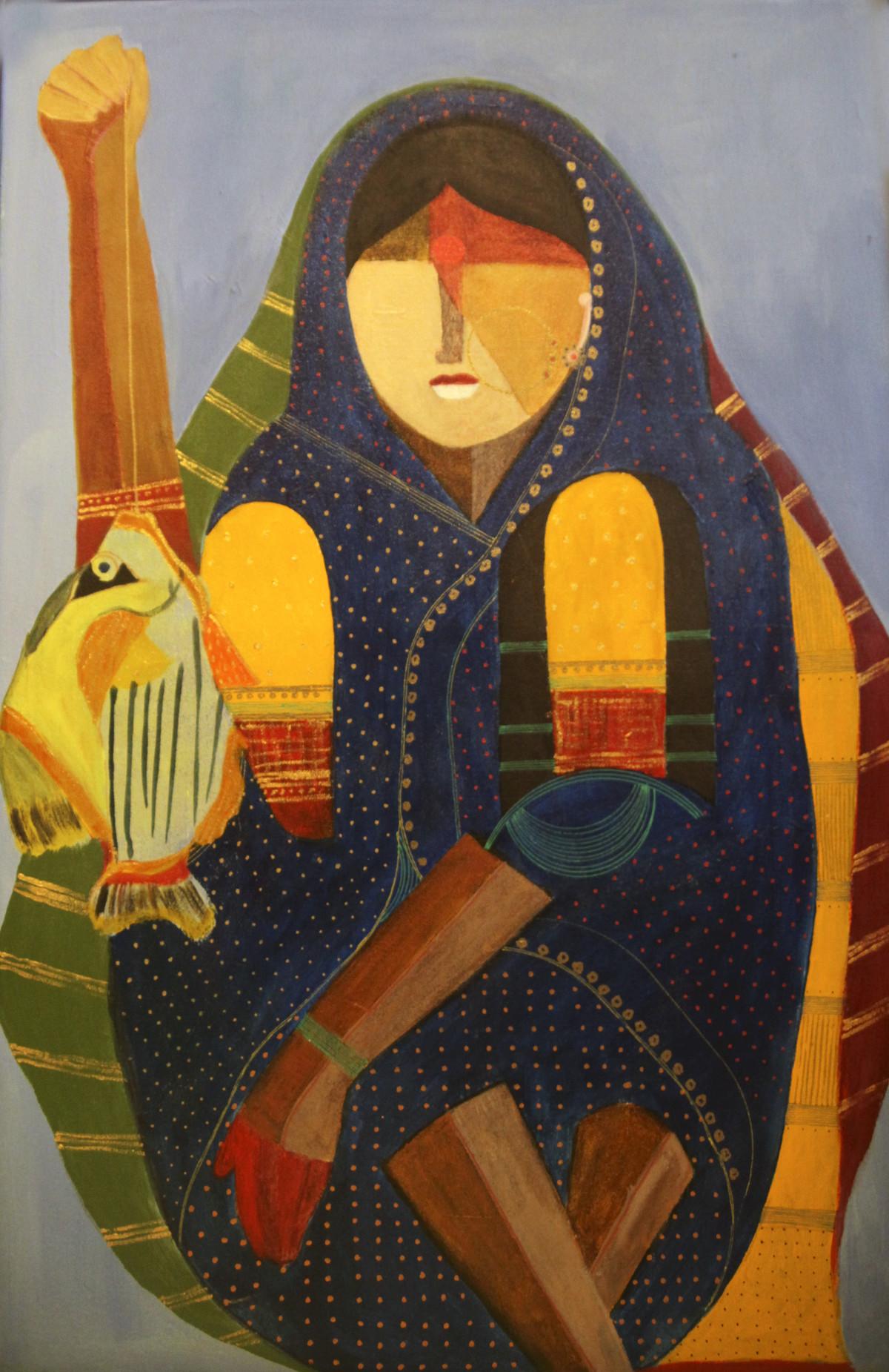 Fish Series II by Siddharth Katragadda, , , Brown color
