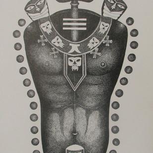 Lord Shiva Digital Print by Bhaskar Lahiri,Decorative