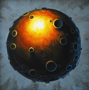 Planet - Painting by Balasubramanian Rajasekaran