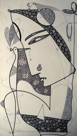 Drawing 2 - Drawing by Girish Adannavar