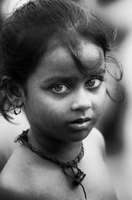 The Eyes by Jayati Saha, Image Photography, Digital Print on Paper, Gray color