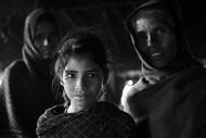 Three Women by Jayati Saha, Image Photography, Digital Print on Paper, Black color