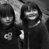 Innocence by Jayati Saha, Image Photography, Digital Print on Paper, Gray color