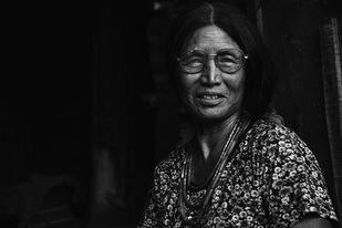 The angami woman