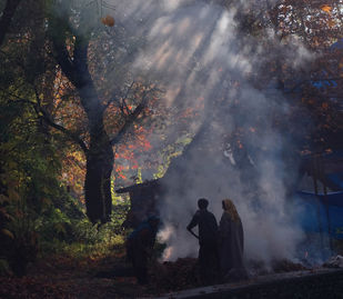 An Autumn Afternoon, Kashmir - Photograph by Sugato Mukherjee