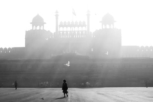 Red Fort - Photograph by Rk Rao