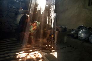 Celestial Blessings, Kashmir - Photograph by Sugato Mukherjee
