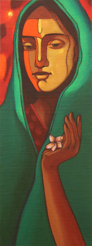 Godly - Painting by Avinash Mokashe
