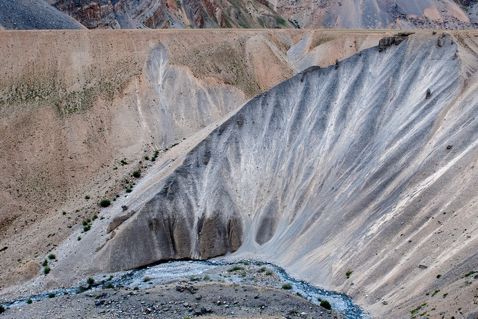 Lahaul Valley by Prabir Mitra, Image Photography, Digital Print on Paper, Brown color