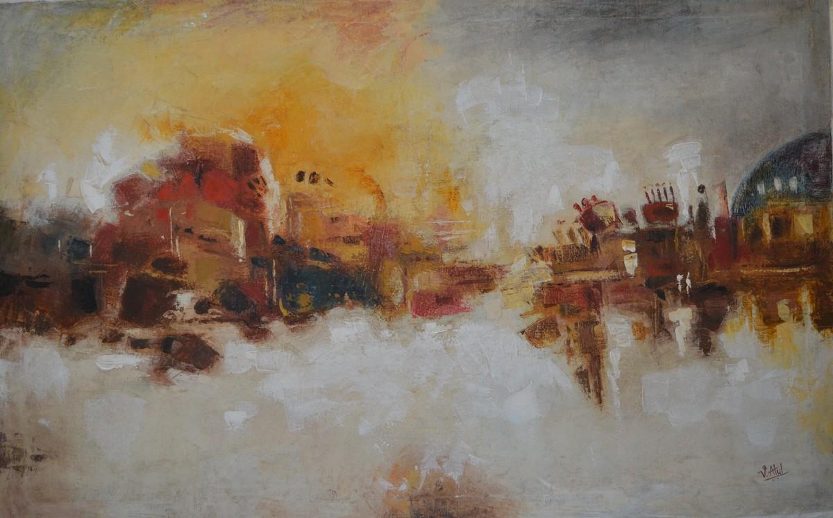 Abstract - 4 Digital Print by Atul Virkar,Abstract
