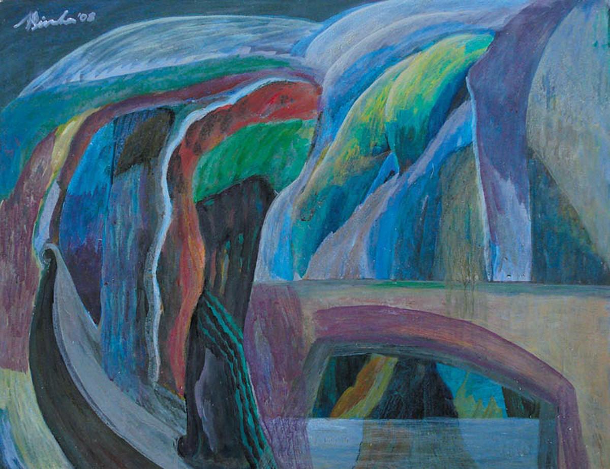 Mindscape 20 Digital Print by Nilotpal Sinha,Naive