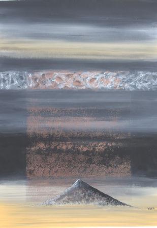 Nature-3 - Painting by Vivek Nimbolkar