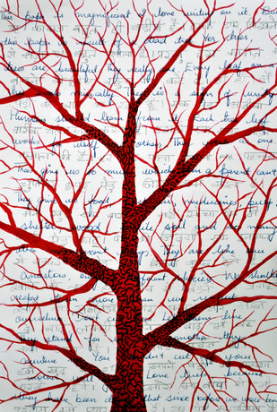 Save Trees - Painting by Sumit Mehndiratta