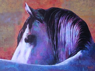 Horse Study - Painting by Studio Zaki