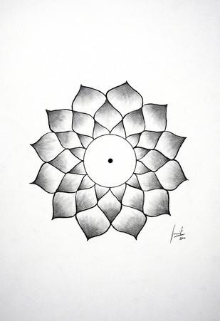 Good Karma - Drawing by Sumit Mehndiratta