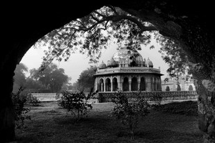 Isha Khan Tomb - Photograph by R K Rao