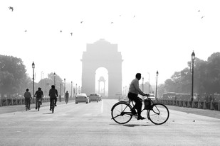 Morning at India Gate - Photograph by R K Rao