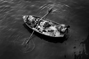 Fishing - Photograph by R K Rao