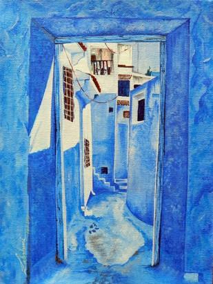 Blueing 2# - Painting by Lakshmi Prakash