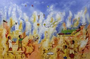 Yesterdays - Painting by Ram Partap Verma