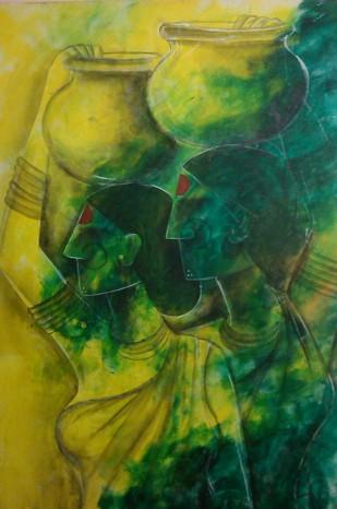 Untitled Digital Print by Janaki Injety,Decorative
