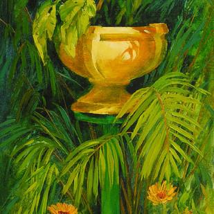 Garden Beauty Digital Print by Swati Kale,Impressionism