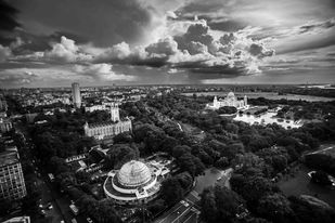 City of Joy by Rikh Mukherjee, Photography, Digital Print on Paper, Gray color