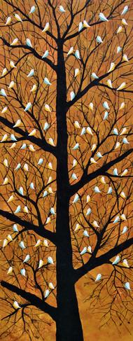 Maighan Vriksh Digital Print by Sumit Mehndiratta,Decorative