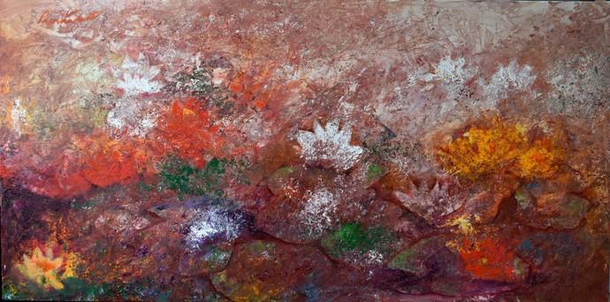 Forever in Bloom Digital Print by Prenita Dutt,Impressionism