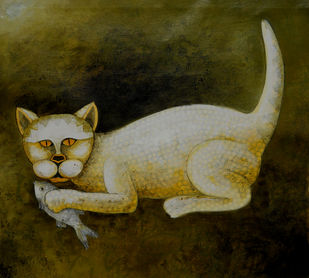 Hunter ii Print By Sumitra Chattopadhyay