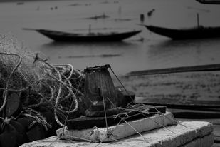 Still life by Debabrata Sarkar, Image Photography, Digital Print on Paper, Gray color