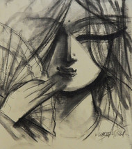SHE- 3 by Subrata Ghosh, , , Brown color
