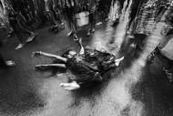 Devotee by Joydeep Mukherjee, Image Photograph, Digital Print on Paper, Gray color