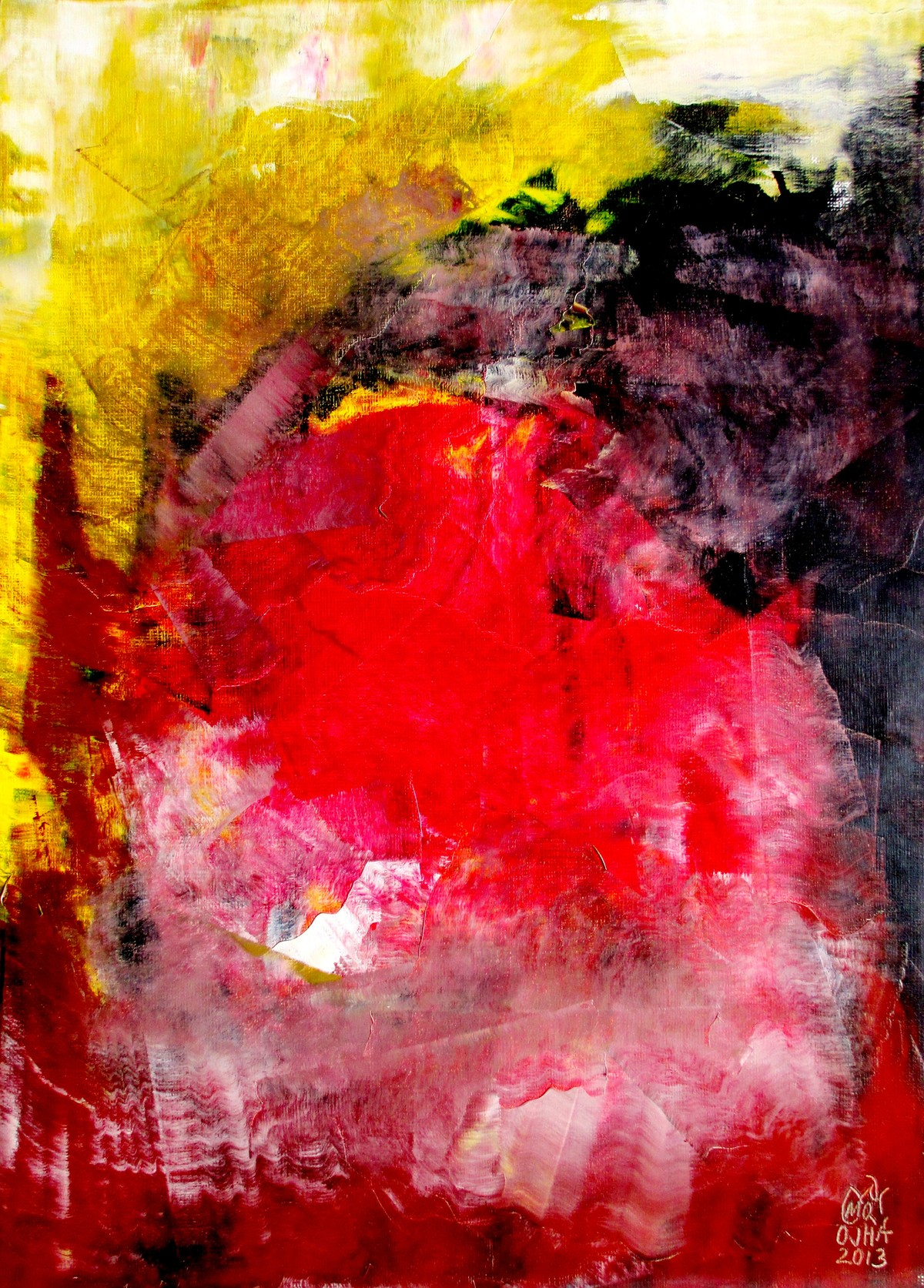 Metaphysical Sentiment II Digital Print by Ratnakar Ojha,Abstract