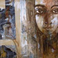 Gae0130 p shivani bharadwaj 30in x 30in acrylic on canvas 2008 lower right