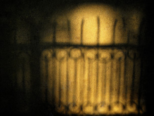 Golden Wall by Tarun Sehdev, Image Photograph, Digital Print on Paper, Brown color