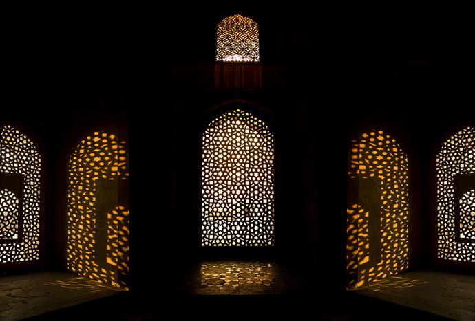Shadows & Lights with Rhythm by Tarun Sehdev, Image Photograph, Digital Print on Paper, Black color