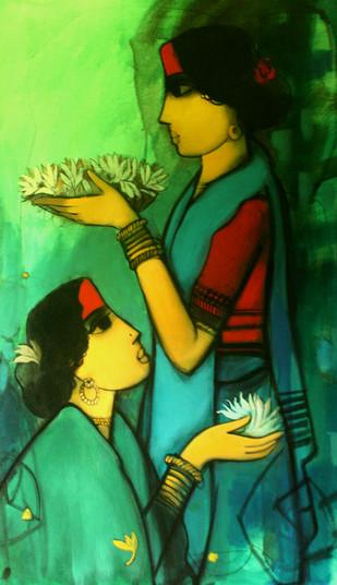 Suman by Sachin Sagare, , , Green color